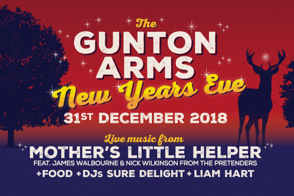 THE GUNTON ARMS NEW YEARS EVE PARTY 2018