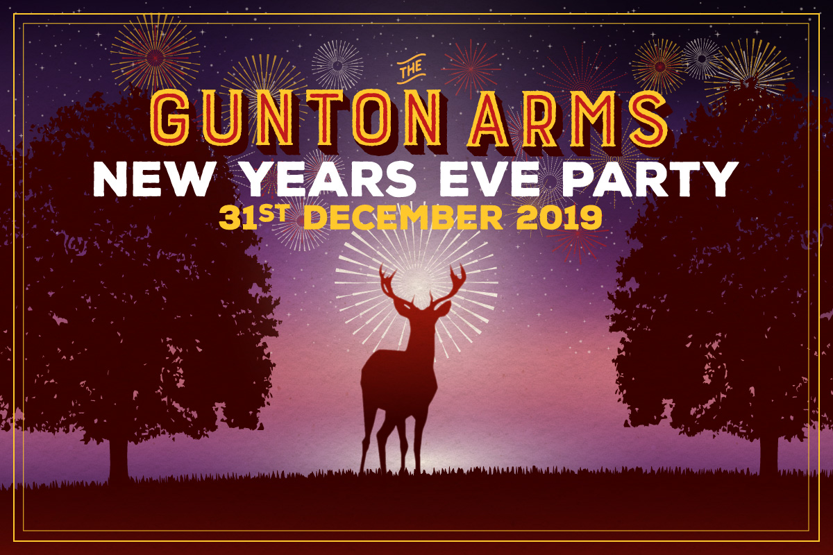 THE GUNTON ARMS NEW YEARS EVE PARTY